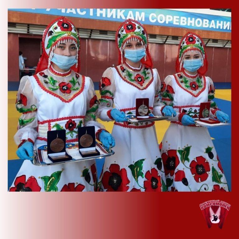 Всероссийские соревнования по дзюдо