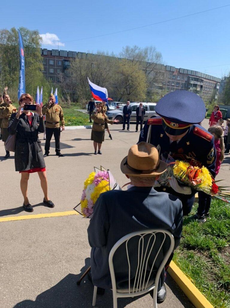 9 мая 2021 года фронтовая бригада МАУК «ДЦ Комсомолец»